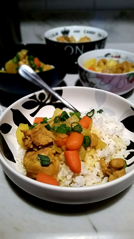 curry chicken 20 minutes fast family meal