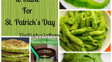 Healthy Green Foods to Make for St. Patrick's Day