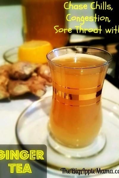 Home Made Lemon Ginger Tea recipe
