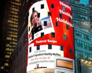 the big apple mama blog featured on Times Square, NYC