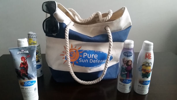 Pure Sun Defense beach tote giveaway