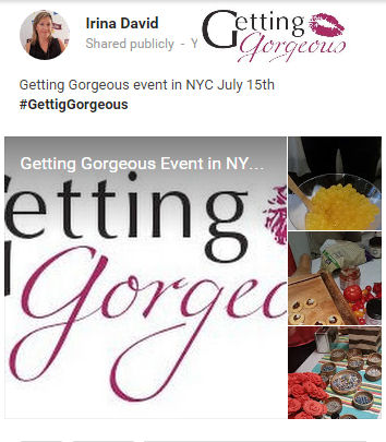 getting gorgeous event july 15th
