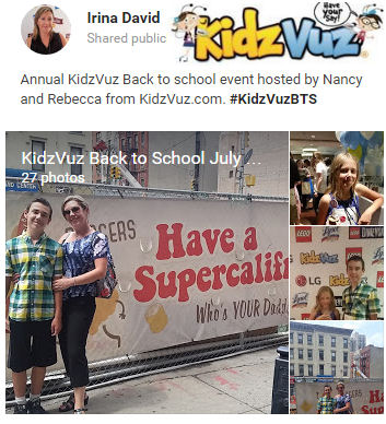 Mid-Summer Celebrations with #KidzVuzBTS #SweetSuite15 and #GettingGorgeous