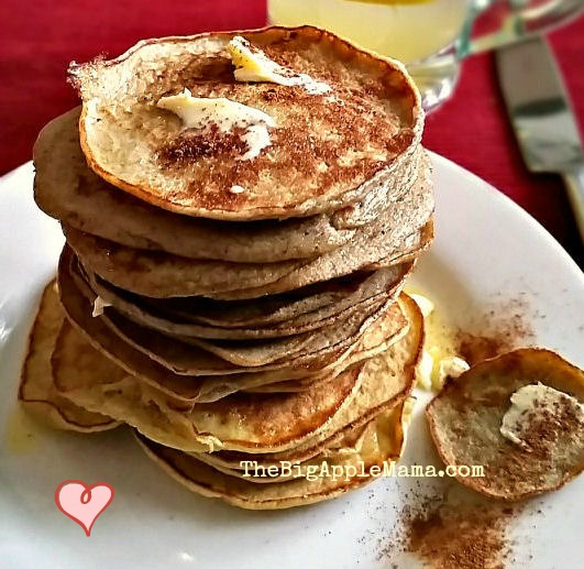 3 ingredient no-carb pancakes