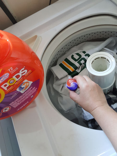 Tide Pods for the after big game party wash