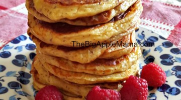 Fluffy Low Carb Cottage Pancakes