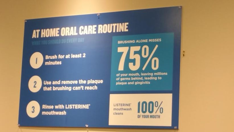 at home oral care routine