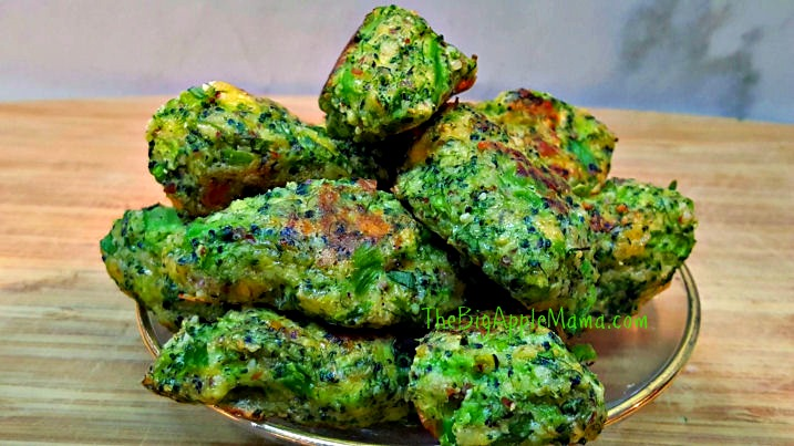 broccoli tots - healthy delicious low carb meal and appetizer