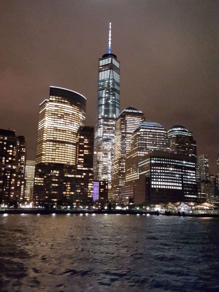 Best Views Of Downtown Manhattan At Night From NYC