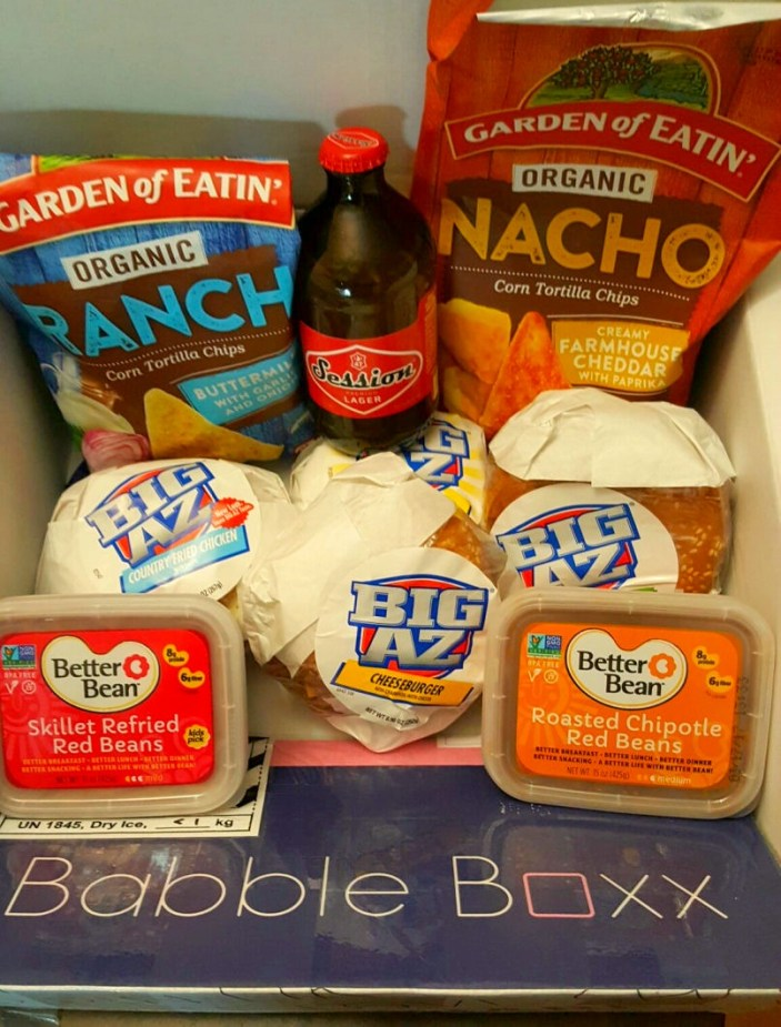babbleboxx-food and drinks for superbowl