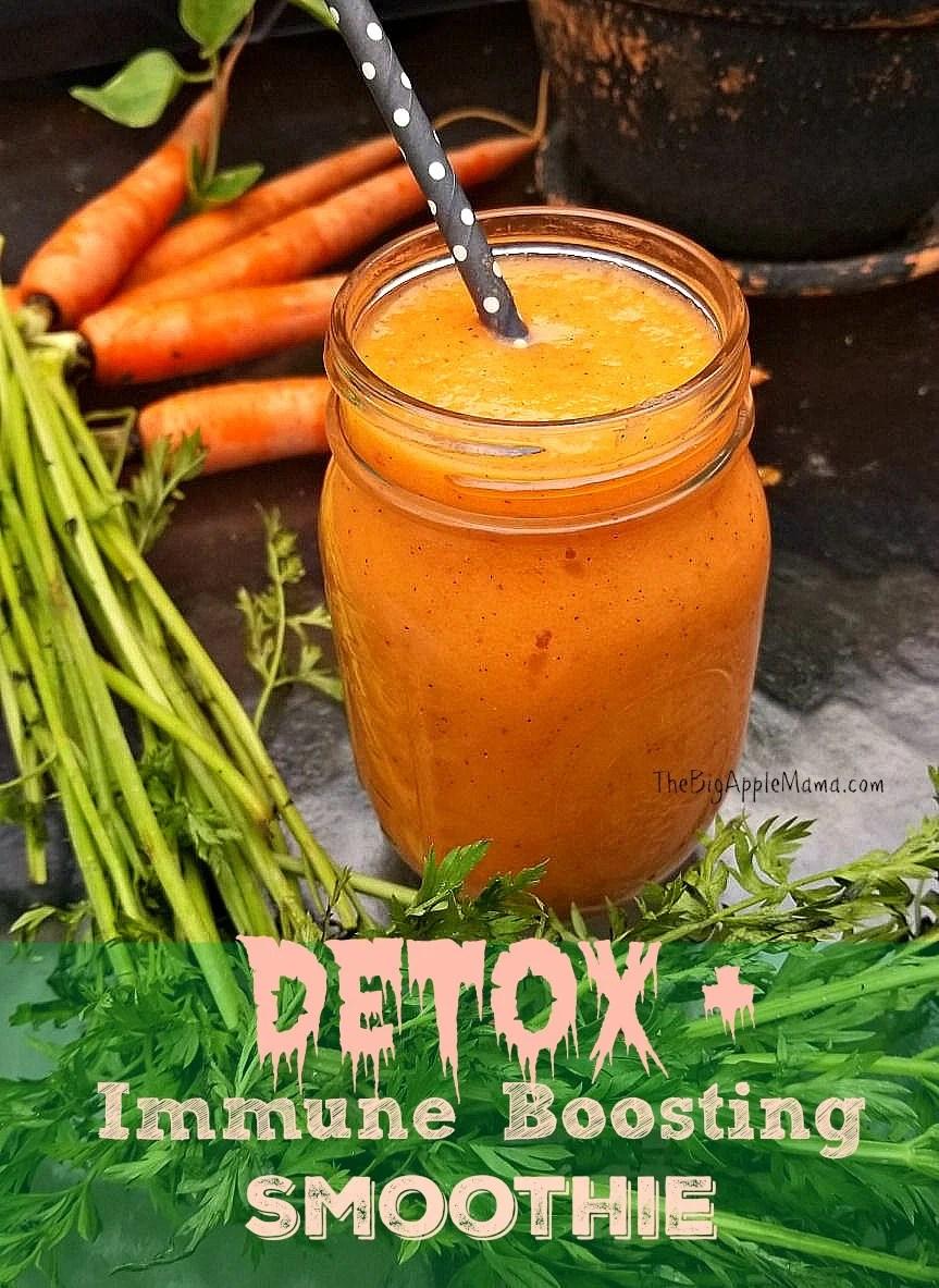 Detox and Immune Boosting Smoothie - Simple Ingredients yet very powerful drink