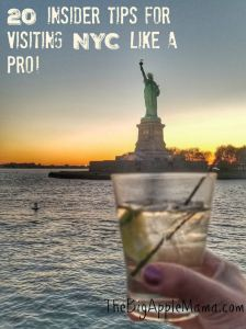 nsider tips for visiting NYC