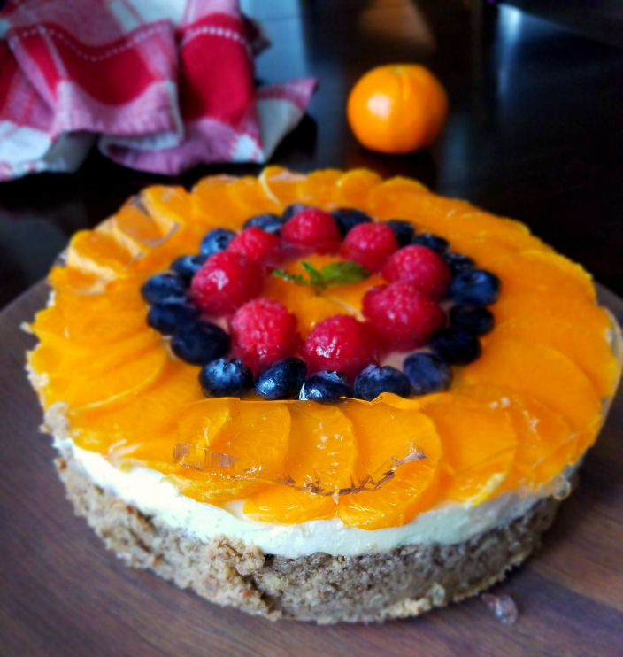 Low Carb Mandarin Cheesecake, Instant Pot