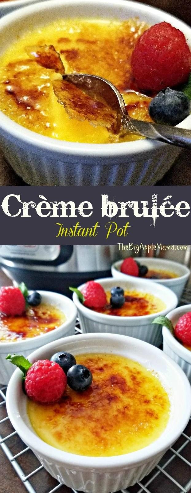 Instant Pot Creme Brulee: The BEST Recipe for Creme Brulee