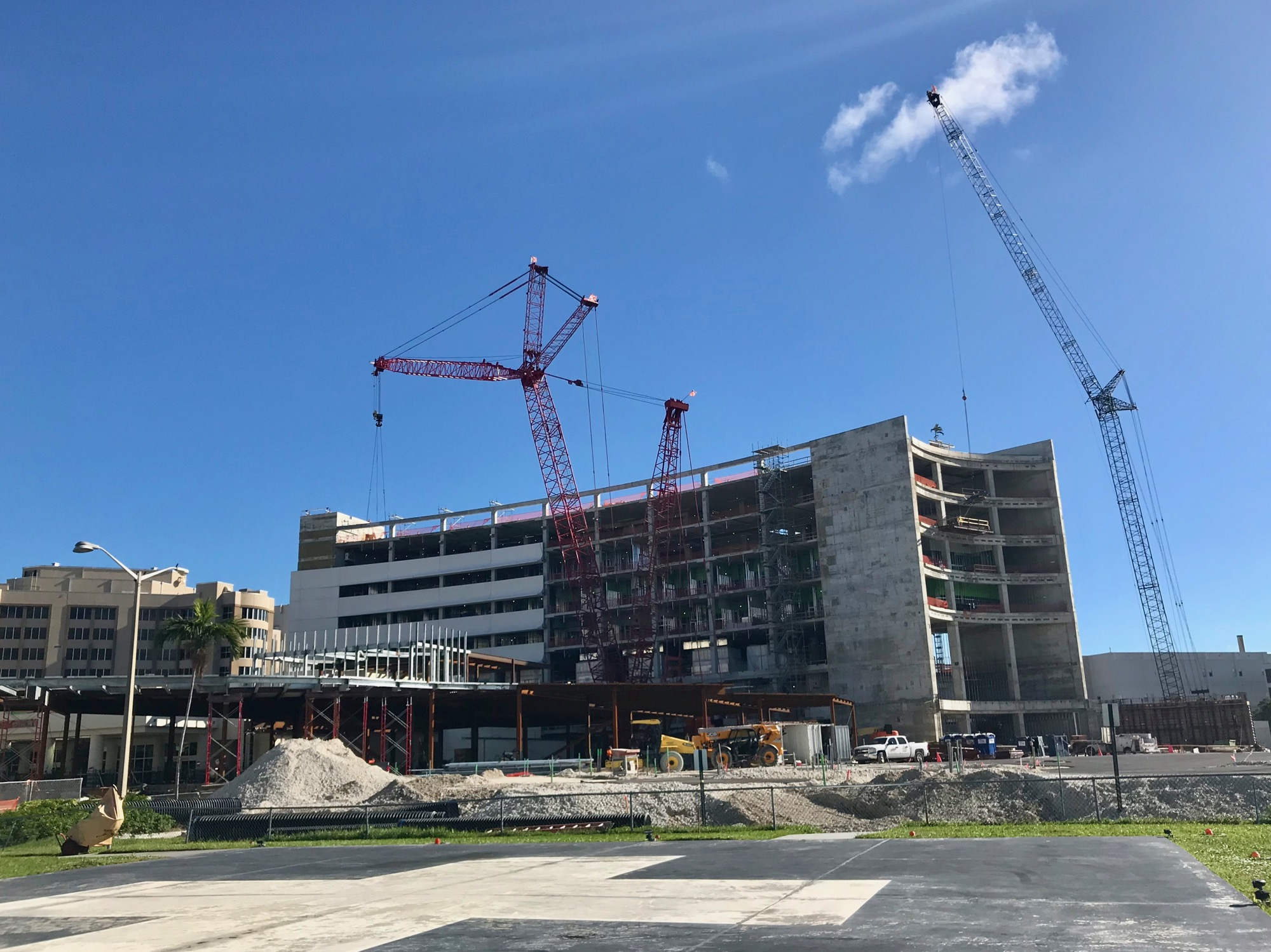 Mt  Sinai Hospital's Big New Wing is Really Shooting Up