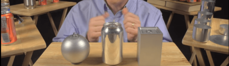 soda can shape