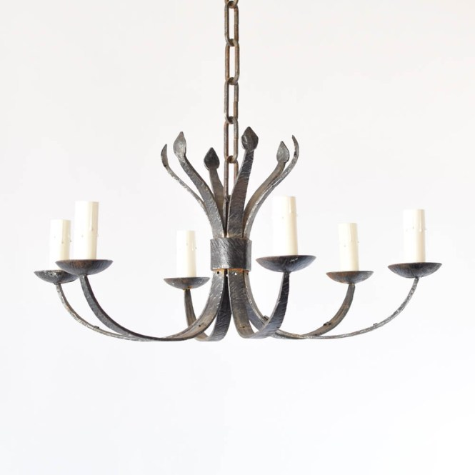Hanf Forged Iron Chandelier