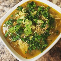 Slow Cooker Chicken Chili Verde - Paleo/Gluten Free