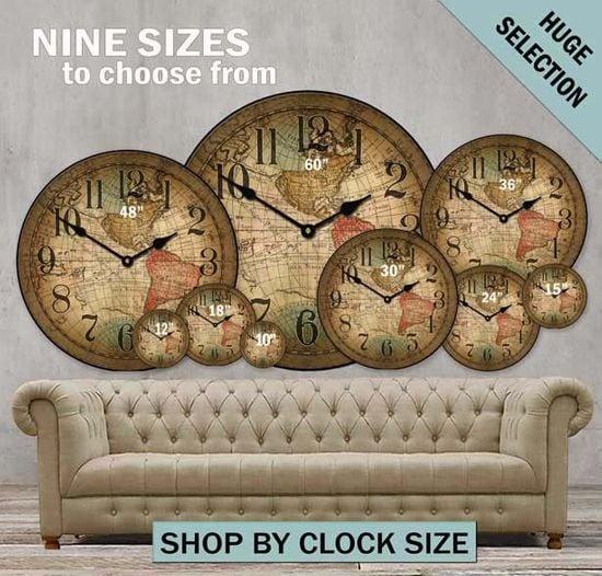 Big Wall Clocks And Customizable Large Wall Clocks The Big Clock Store