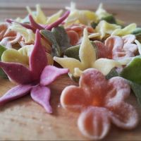 Our handmade pasta flowers