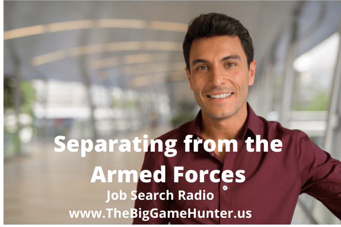Separating from the Armed Forces