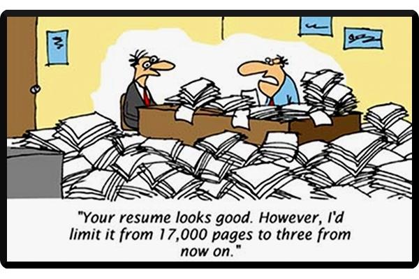 stupid resume mistakes