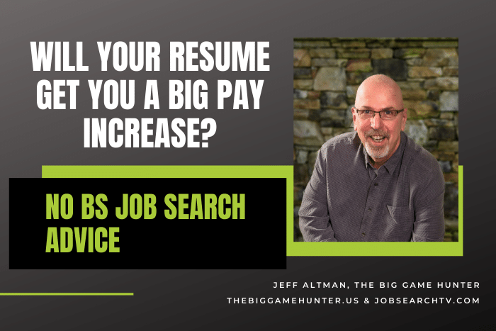 Will Your Resume Get You a Big Pay Increase?