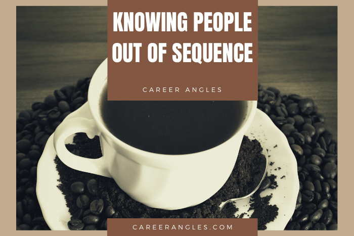 Knowing People Out of Sequence