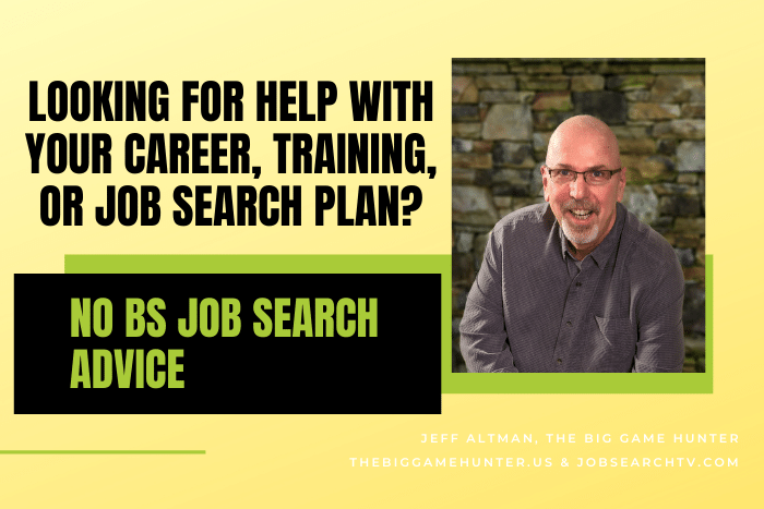 Looking for help with your career, training, or job search plan?