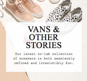 Vans x & Other Stories Spring 2015