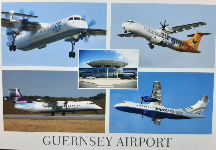 these are the biggest planes that can fly  in Guernsey