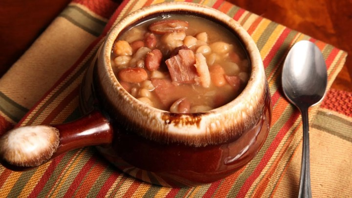 Bean soup is extremely popular in Guernsey