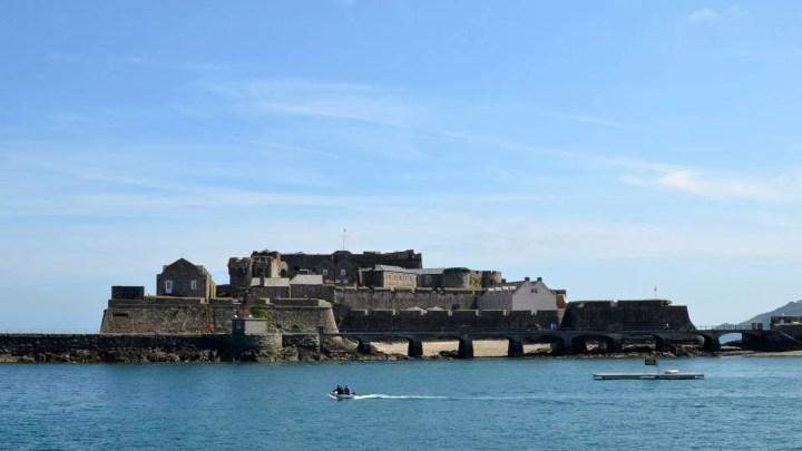 Cornet Castle on Guernsey