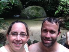 The two of us at Mossman.