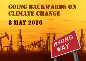 Going Backwards on Climate Change