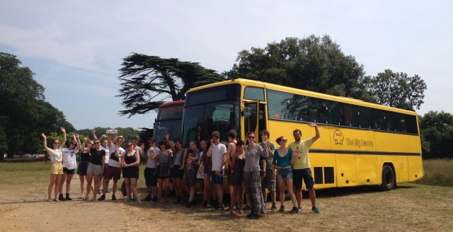 Festival Coach from Brighton to Glastonbury, Latitude, Reading, Boomtown and Shambala