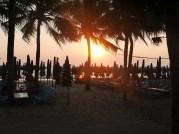 Sunset in Bang Saen