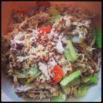 Pesto Tuna Salad