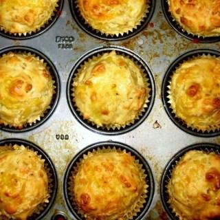 Mum's cheddar scones- lightened up