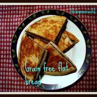 off the cuff Fridays- Grain free kabocha flatbread