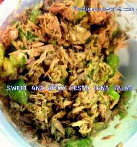 Sweet and Spicy Tuna Salad