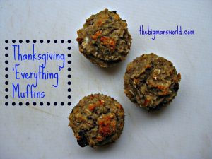 Thanksgiving everything muffins