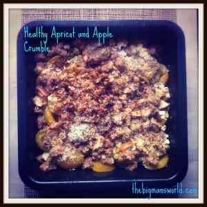 Apricotapplecrumble