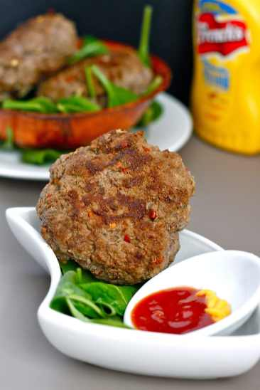 lean-curry-beef-burgers | thebigmansworld.com