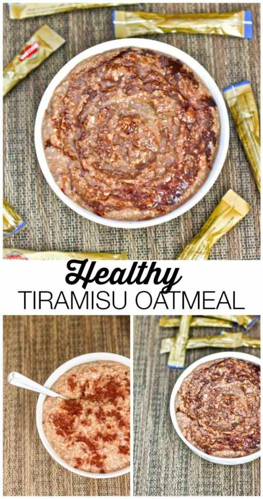 Healthy High Protein Tiramisu Overnight Oats- Smooth, creamy and the perfect recipe to keep you satisfied for hours! NO Sugar or nasties at all! {vegan, gluten free, sugar free recipe}- thebigmansworld.com