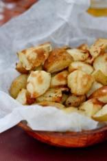 Kettle Corn Baked Potatoes (Gluten Free, Vegan)