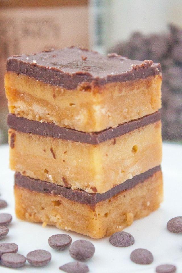 A recipe for #paleo No Bake SunButter Bars- #vegan and #glutenfree too -thebigmansworld.com
