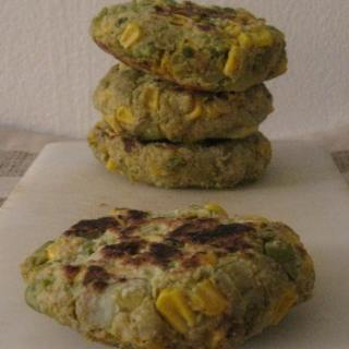 [Gluten free] Curry Vegetable Burgers