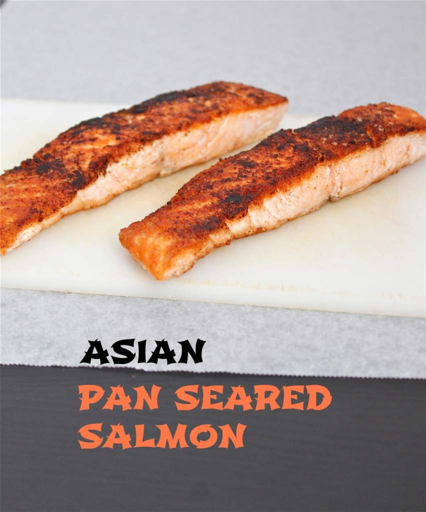asian pan seared salmon- Paleo, Gluten free and delicious!