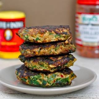 Curried Salmon Patties